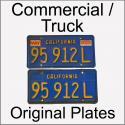 1970 - 1980 Original Commercial / Truck Plates
