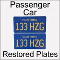 1970 - 1980 Restored Passenger Car Plates