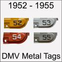 California YOM DMV Metal Tags