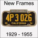 New Frames To Fit 1929 - 1955 Plates