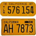 CA Trailer License Plates For Sale