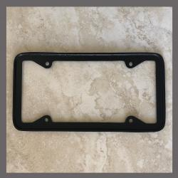 Polished Aluminum License Plate Frame