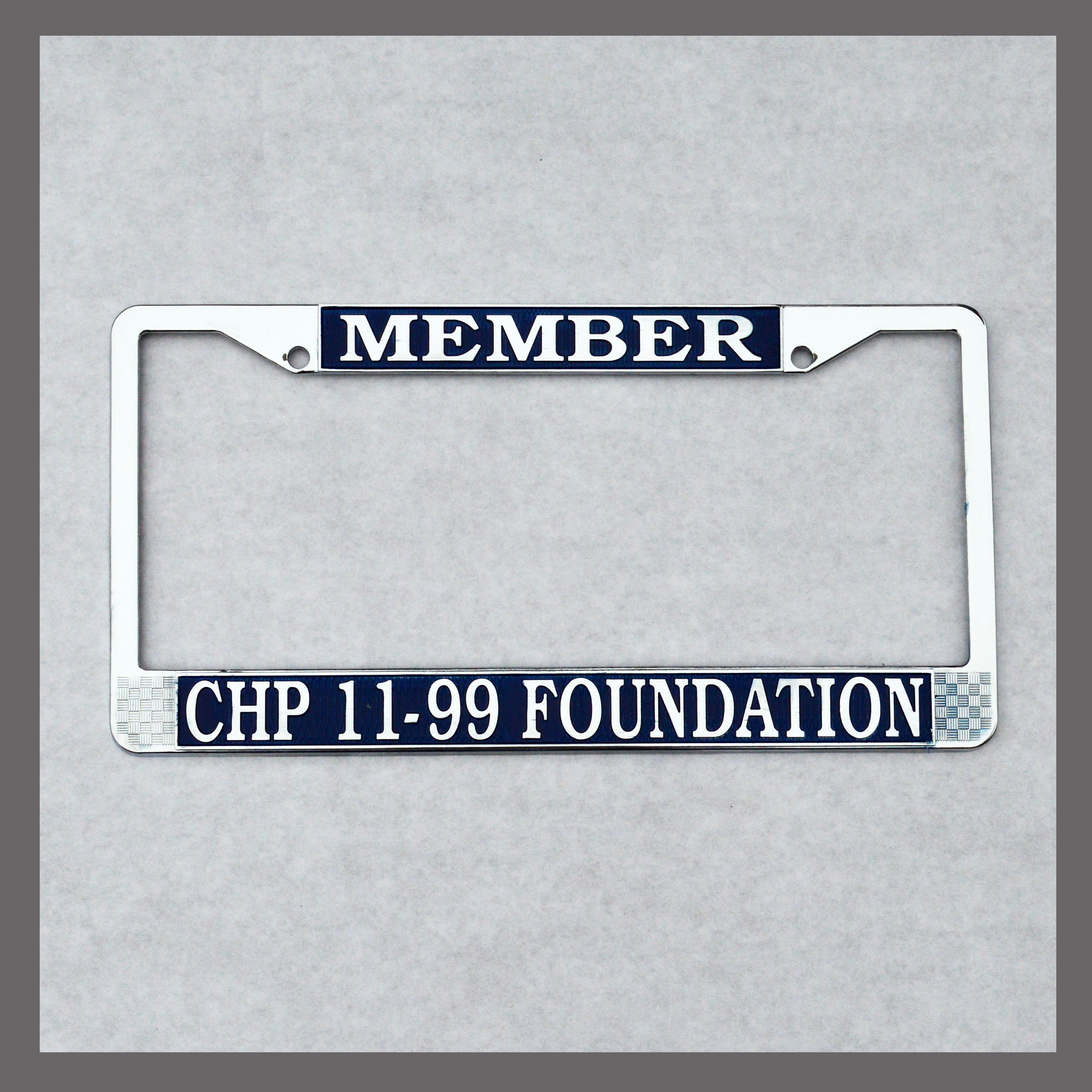11-99 Foundation License Plate For Sale