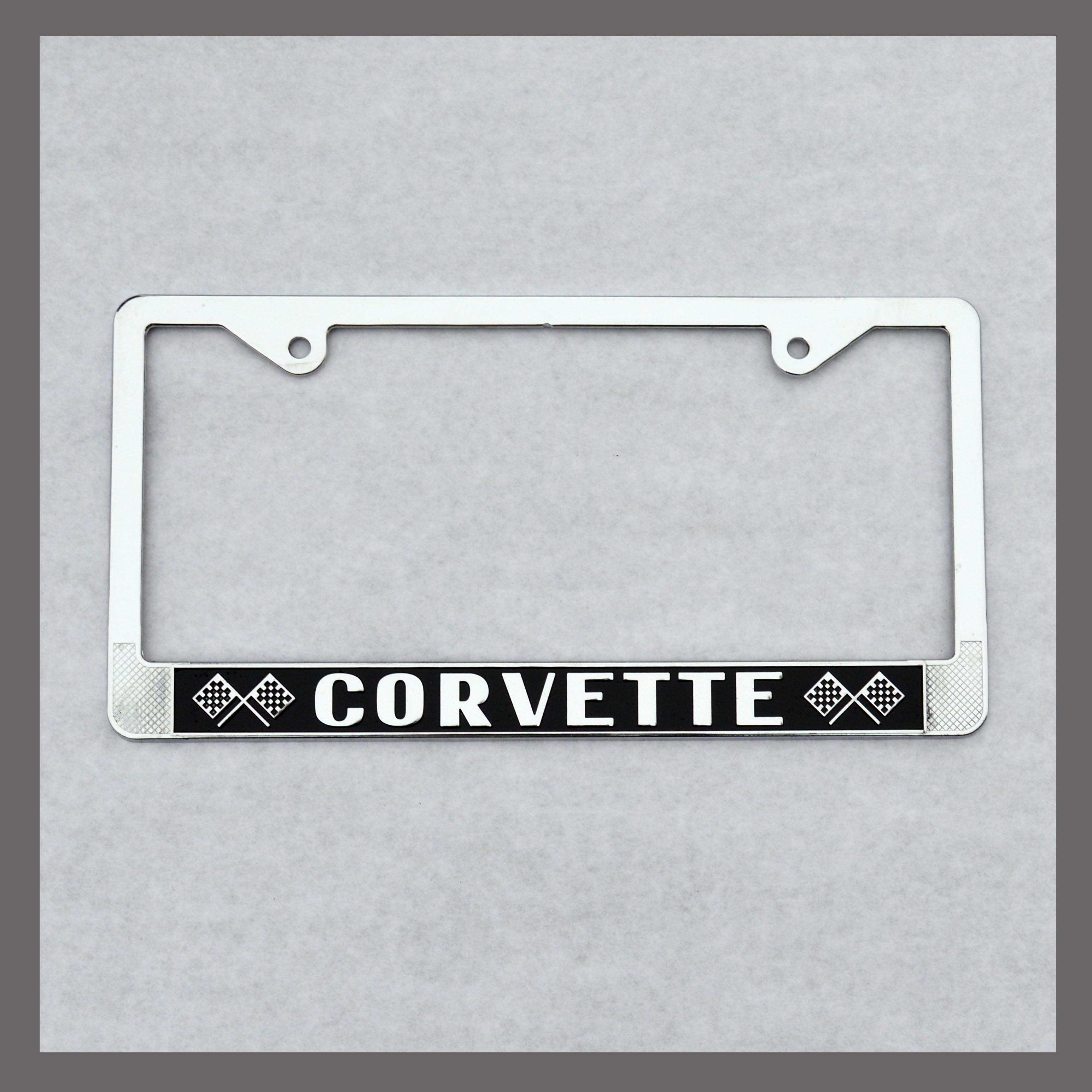 Corvette License Plate Frame For Sale