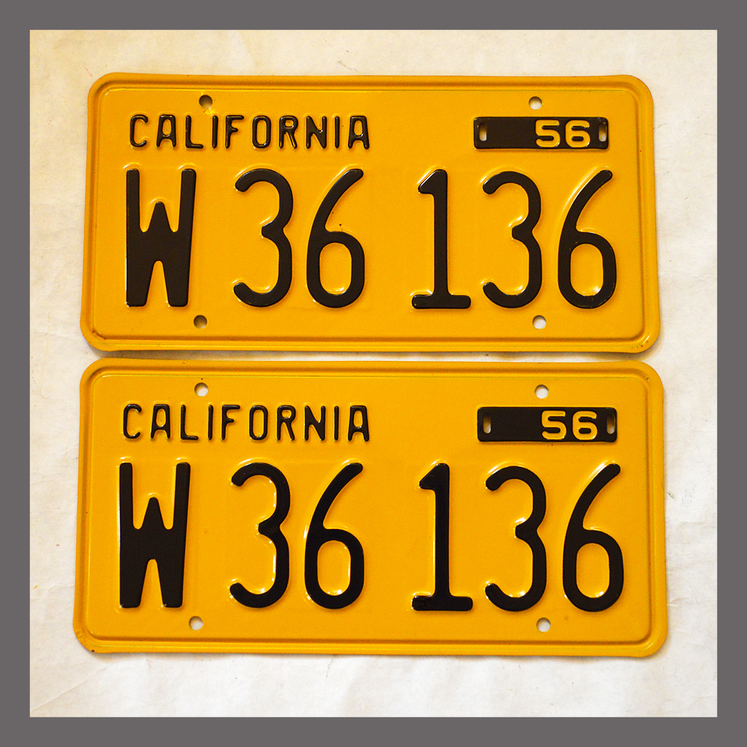 Use Old License Plate On New Car California